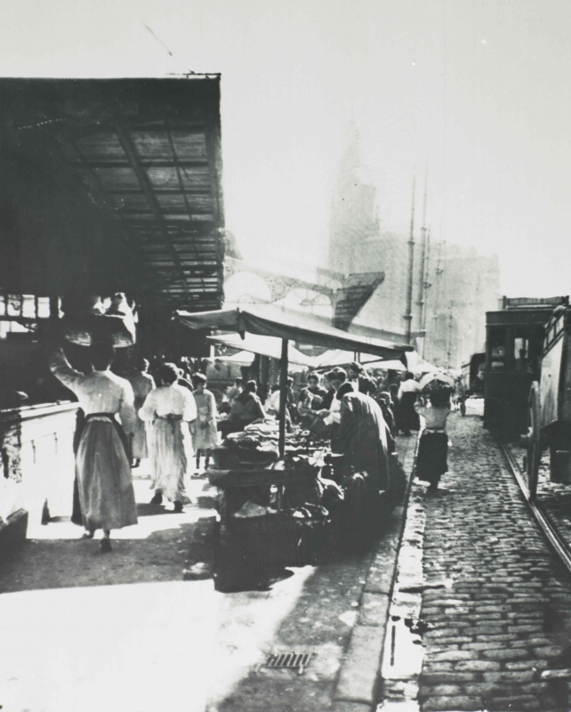 <b>Mercado Antiguo, 1900</b>  AFB, Fotos, AL0015-0238